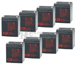 Baterías RBC43 de reemplazo para SAI APC