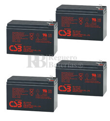 Baterías de sustitución para SAI LIEBERT PS1000RT2-230