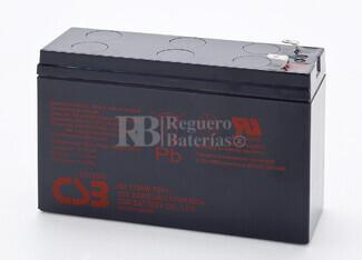 Batería SAI 12 Voltios 6.5 Amperios CSB HR1224W