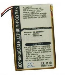 Bateria para PalmOne Tungsten E
