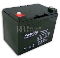 Bateria AGM para Silla de Ruedas Eléctrica en 12 Voltios 35 Amperios U-POWER UP35-12