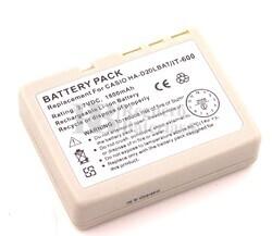 Bateria para escaner de codigo de barras CASIO HA-D20LBAT