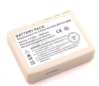 Bateria para escaner de codigo de barras CASIO HA-D21BAT