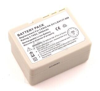 Bateria para escaner de codigo de barras CASIO HA-D20LBAT (Larga duracion)