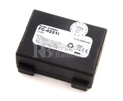Bateria larga duración para escaner PSC FALCON 4220 (4006-0326, 4006-0327)