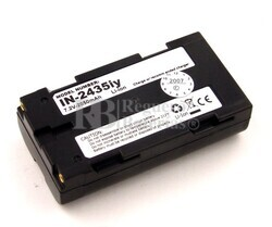 Bateria para escaner INTERMEC T2435 Handheld (068537) 2.050mAh