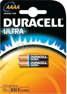 Pila Alcalina AAAA Duracell Ultra 1.5V ( Blister 2 pilas )
