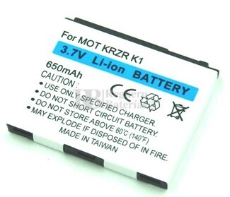 Bateria para Motorola KRZR
