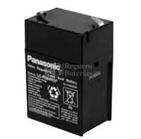 Bateria Panasonic LC-R064R5P 6 Voltios 4,5 Amperios