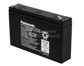 Bateria Panasonic LC-R067R2P 6 Voltios 7,2 Amperios