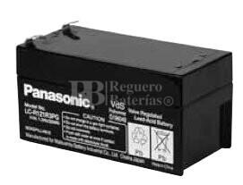 Bateria Panasonic LC-R121R3PG 12 Voltios 1,3 Amperios