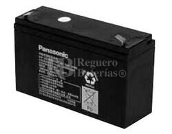 Bateria Panasonic LC-R0615P 6 Voltios 15 Amperios