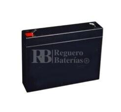 Bateria Kaise KA6V72 6 Voltios 7,2 Amperios 151x34x94,2mm