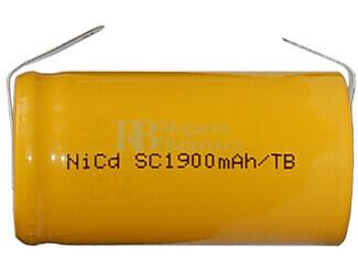 Bateria para montaje de packs de emergencia Sub-C 1.2V 1.900 mAh