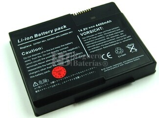 Bateria para Compaq Presario X1412AP-PA131PA