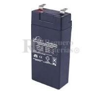 Bateria LEOCH LP2-4.0 AGM 2 Voltios 4 Amperios 48x25 x101mm