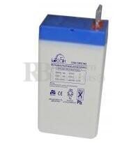 Bateria LEOCH LP4-0.7 AGM 4 Voltios 0.7 Amperios 35x22x64mm