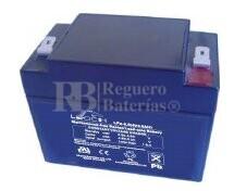 Bateria LEOCH LP4-5.0 AGM 4 Voltios 5 Amperios 91x50x74mm