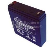Bateria LEOCH LP4-20 AGM 4 Voltios 20 Amperios 149x43x154mm