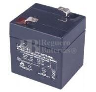 Bateria LEOCH LP6-1.0 AGM 6 Voltios 1 Amperio 51x42x51mm