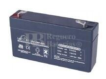 Bateria LEOCH LP6-1.2 AGM 6 Voltios 1.2 Amperios 97x24x51.5mm
