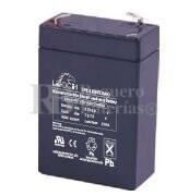 Bateria LEOCH LP6-2.8 AGM 6 Voltios 2.8 Amperios 66x33x97mm