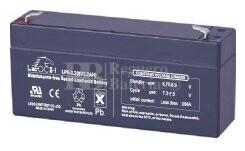 Bateria LEOCH LP6-3.2 AGM 6 Voltios 3.2 Amperios 134x30x60mm