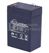 Bateria LEOCH LP6-4.0 AGM 6 Voltios 4 Amperios 70x47x100mm
