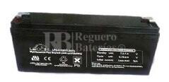 Bateria LEOCH LP6-5.0 AGM 6 Voltios 5 Amperios 169x35x70mm