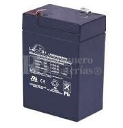 Bateria LEOCH LP6-6.0 AGM 6 Voltios 6 Amperios 70x47x100mm