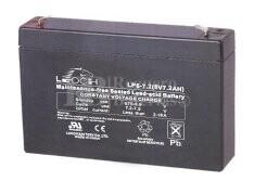 Bateria LEOCH LP6-7.2 AGM 6 Voltios 7.2 Amperios 151x34x94mm