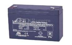 Bateria LEOCH LP6-10 AGM 6 Voltios 10 Amperios 151x51x94mm
