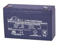 Batería  AGM 6 Voltios 12 Amperios LEOCH LP6-12