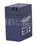 Bateria LEOCH LP6-13 AGM 6 Voltios 13 Amperios 108x70x140mm
