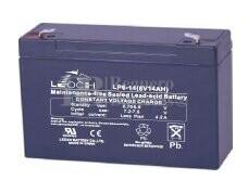 Bateria LEOCH LP6-14 AGM 6 Voltios 14 Amperios 151x51x94mm