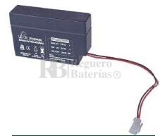 Bateria LEOCH LP12-0.8 AGM 12 Voltios 0.8 Amperios 96x25x62mm