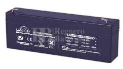 Bateria LEOCH LP12-2.3 AGM 12 Voltios 2.3 Amperios 178x35x60mm