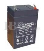 Bateria LEOCH LP12-2.9 AGM 12 Voltios 2.9 Amperios 79x56x99mm