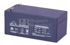Bateria LEOCH LP12-3.2 AGM 12 Voltios 3.2 Amperios 134x67x60.5mm