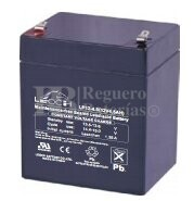 Bateria LEOCH LP12-4.5 AGM 12 Voltios 4.5 Amperios 90x70x101mm