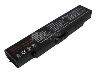 Bateria para Sony VGN-CR408E