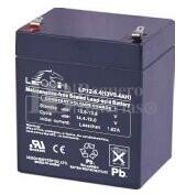 Bateria LEOCH LP12-5.4 AGM 12 Voltios 5.4 Amperios 90x70x101mm