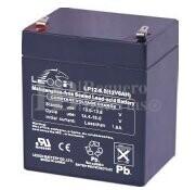 Bateria LEOCH LP12-6.0 AGM 12 Voltios 6 Amperios 90x70x101mm