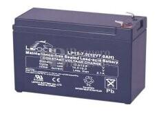 Bateria LEOCH LP12-7.0 AGM 12 Voltios 7 Amperios 151x64.5x94.5mm
