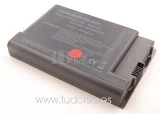 Bateria para Acer Ferrari 3000WLMi