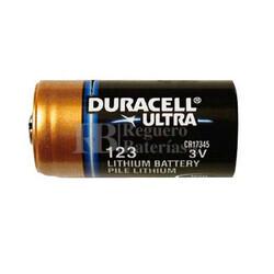 Pila de Litio Duracell DL123 - CR123 Duracell formato industrial
