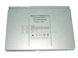 Bateria para Apple MacBook Pro 17 Pulgadas MA897