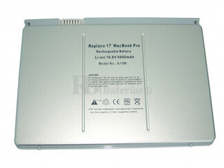 Bateria para Apple MacBook Pro 17 Pulgadas MA897