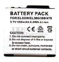 Bateria BTY26158-ELSON-STD para telefono ELSON