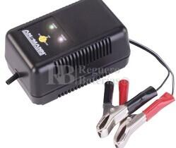 Cargador Automatico Baterias de Plomo para 6, 12 Y 24 Voltios 0.700/1.000 mAh